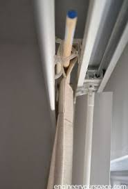 Traverse Curtain Rod Repair If You Your Vertical Blinds You Have To See This Blogger U0027s