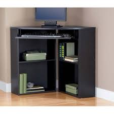 Cheap Black Corner Desk Black Corner Desk Walmart Computer Underlack With Hutch Home