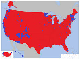 Usa Map By State by How Whites Voted In The 2016 Us Presidential Election By State