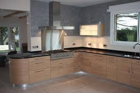 cuisine hetre clair cuisine chene clair plan travail noir collection et chambre enfant