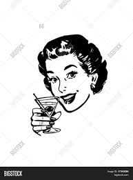 retro martini martini toast retro clip art vector u0026 photo bigstock