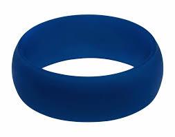 midnight blue wedding band silicone wedding ring by honorgear premium grade wedding