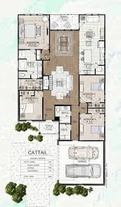 Bathroom Floor Plans With Walk In Closets Cattail New Homes In Denham Springs La