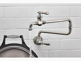 What Is A Pot Filler Faucet Artifacts Wall Mount Pot Filler Faucet K 99270 Kohler