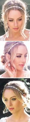 hair styles with rhinestones best 25 wedding headband hairstyles ideas on pinterest diy hair