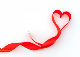 heart ribbon heart silk ribbon symbol photo free