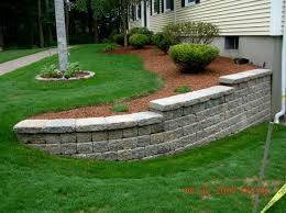 Patio Edging Stones by Landscaping With Stone 4 Best Dining Room Furniture Sets Tables
