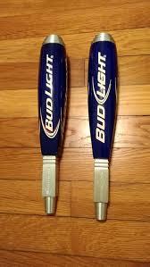 bud light beer tap handle lot of 2 bud light beer tap handles knobs bar ebay ebay the