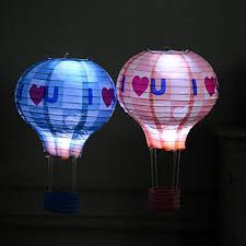 candle balloon leadingstar led electronic lantern wick hot air balloon candle