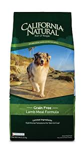 California Natural Grain Free Lamb Meal Formula Adult Dog Food 15 lb