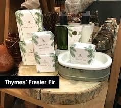 thymes frasier fir thymes frasier fir candle 3 wick 65 oz set residenciarusc
