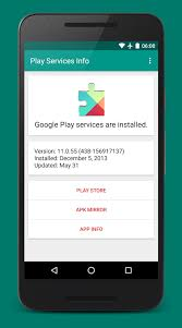 gogle play service apk play services info android apps on play
