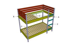 free bunk bed plans myoutdoorplans free woodworking plans and