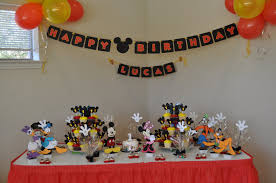 mickey mouse clubhouse birthday ideas for mickey mouse home