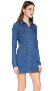 free people gummy denim dynomite mini dress shopbop