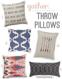 Modern Throw Pillows For Sofa Gather Modern Throw Pillows The Inspired Room