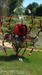 venetian glass beaded spider ornament legend