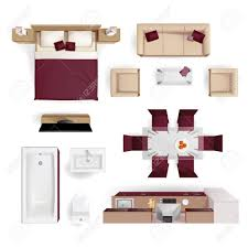 salon chambre a coucher moderne appartement salon chambre à coucher et salle de bains