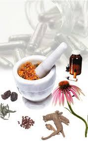 Various herbal supplements.