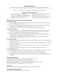 Technical Support Resume Template Rad Tech Resume Free Excel Templates