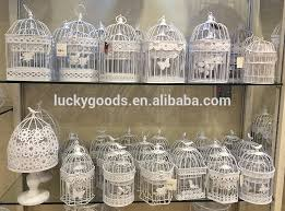 bird cage decoration design hanging decoration wedding bird cage hanging bird cage