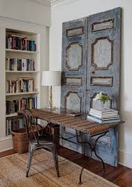 shabby chic doors office vintage wooden doors bring shabby chic charm to this home
