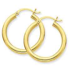 14k gold hoop earrings captain s treasure chest jewelry since 1986 earrings