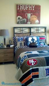 remodelando la casa beautiful home tour 2 the second room was a football room for the boy in the house