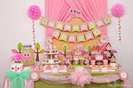 baby girl shower themes owl baby girl shower ideas charming owl ba shower ideas 92