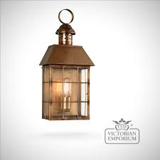 hyde park brass wall lantern antique brass outdoor wall lights