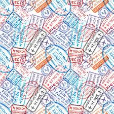 travel visa images Travel visa rubber stamps imprints jpg