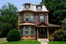 Victorian Home Style Second Empire Architecture Under The Mansard Roof