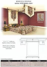 Drapery Medallions Hardware Infinette Decorative Curtain Hardware Easy Installation