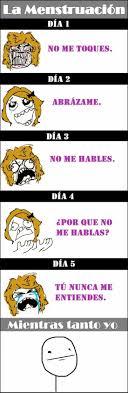 Memes En Espaã Ol Para Facebook - las chicas en sus días jajaja namames pinterest los chicos