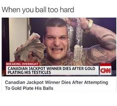 Ball So Hard Meme - ball so hard mo fuggers tryna gold plate my balls meme by bambamz