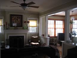 Center Hall Colonial Open Floor Plan Should I Open Up The Wall Between My Living Room And Family Room