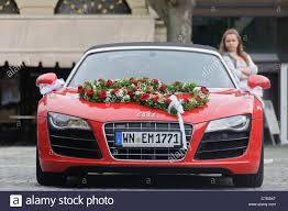 audi supercar convertible red audi r8 quattro v10 convertible wedding car luxury roadster