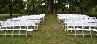 white wedding chairs chair rental cincinnati folding white chair a gogo rentals