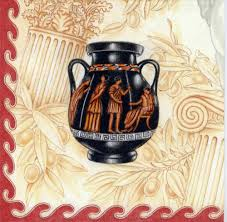 Classical Vases Decoupage Napkins Of Classical Greek Vases U2013 Chiarotino