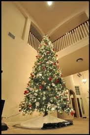 12 ft artificial tree 10 and foot trees prelit