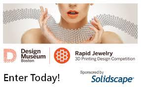 design competition boston design museum boston s 3d printed jewelry competition fashionlab