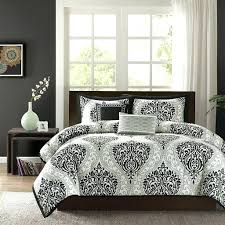 Damask Comforter Sets Articles With Black And White Damask Comforter Set Tag Compact