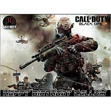 call of duty cake topper call of duty black ops 3 edible frosting cake topper 1 4 sheet
