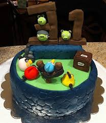 wonderful angry birds birthday cake between the pages
