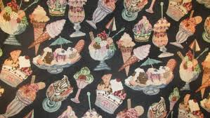 Home Decor Weight Fabric by Ice Cream Tapestry Brocade Fabric Upholstery Weight Tapestry