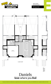 floor plans u2013 firsthome brampton u2013 daniels gateway