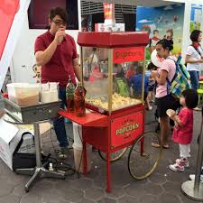 popcorn rental machine popcorn machine stall rental singapore that balloons