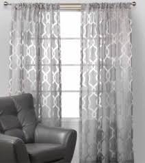 Grey Sheer Curtains 2 New Z Gallerie Curtains Chanel Drapes Window Decor Gray Sheer
