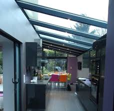 cuisine veranda design d intérieur veranda alu noir 697414 modale vacranda