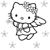 pudgy bunny u0027s kitty coloring pages